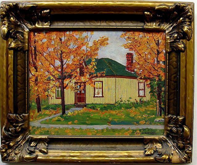 HERBERT WILLIAM WAGNER (1889-1948) CANADIAN HOUSE