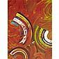 HOWARD SOAR ROUNDINTURN, acrylic on canvas;