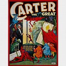 Oversize American Chromolithograph Poster, early 20th century, 106