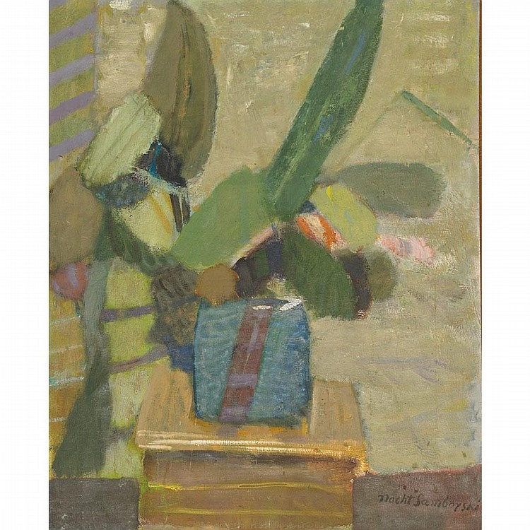 Artur Nacht-Samborski (1898-1974), STILL LIFE, Oil on canvas; signed lower right, 29