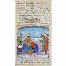 Early Qajar School, COURT SCENE, 18TH/19TH CENTURY