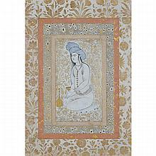 Safavid School, PORTRAIT OF A YOUNG MAN, 16TH/17TH CENTURY