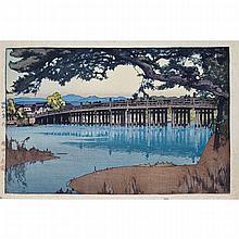 Hiroshi Yoshida (1876-1950), TWO MODERN VIEWS