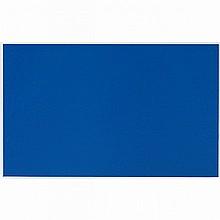 CLAUDE TOUSIGNANT, R.C.A., MONOCHROME BLEU 9, acrylic on card, 5.75 ins x 9.75 ins; 14.6 cms x 24.8 cms