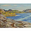 ALEXANDER YOUNG JACKSON, O.S.A., R.C.A., ECHO BAY, GREAT BEAR LAKE, NEAR PORT RADIUM, N.W.T., oil on canvas, 22 ins x 28 ins; 55.9 cms x 71.1 cms