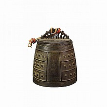 Bronze Temple Bell, Edo Period, 18th/19th Century