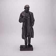 Louis-Philippe Hébert, R.C.A. (1850-1917), SIR JOHN A. MACDONALD, 1889, height 29.5