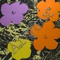 After Andy Warhol (1928-1987), American FLOWERS (PORTFOLIO OF 10); Ten colour silkscreens; each with stamps: