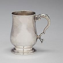 George III Silver Small Mug, Hester Bateman, London, 1781, height 4.1