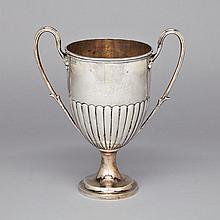Late Victorian Silver Two-Handled Cup, Francis Boone Thomas, London, 1897, height 11