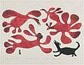 Inuit Art: KENOJUAK ASHEVAK (1927-), E7-1035, Cape