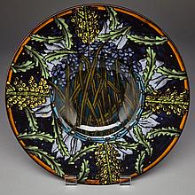 DAILY CUMBERLAND, DECORATIVE WALL PLATE, height 1.75