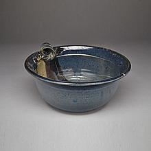 TONY BLOOM, BOWL WITH CURL, height 5.25