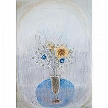 OTTO DONALD ROGERS (1935 - ), R.C.A., VASE OF FLOWERS, PASTEL; SIGNED AND DATED 63, sight 28