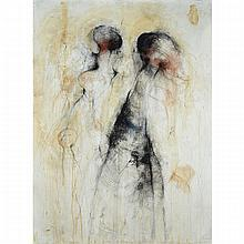 SYLVIA SAFDIE (1942 - ), GOREME #10, MIXED MEDIA; SIGNED AND DATED 1987, Image 71
