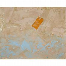DAVID BOLDUC (1945 - 2010), SOFT CENTRE, OIL ON CANVAS; SIGNED AND TITLED VERSO, 54.25