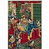 Utagawa Kunisada (Toyokuni III, 1786-1865), 歌川國貞, 9.1