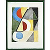 Sonia Delaunay-Terk (1885-1979), RYTHMES ET COULEURS, Colour etching and aquatint; signed and numbered 90/125 in pencil to margin, titled to gallery label verso., Plate 19.3