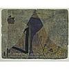 Harold Barling Town (1924-1990), THE MAGIC MOUNTAIN, 1959, Single autographic colour print (