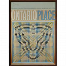 Harold Barling Town (1924-1990), ONTARIO PLACE (POSTER), Colour poster on paperboard; signed, dated 70 and numbered 283/500 in pencil along the top edge, with letters: