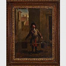 Follower of Jean-Baptiste-Siméon Chardin (1699-1779), THE WATER CARRIER, 13