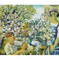 JEAN-PHILIPPE DALLAIRELA JARDINIERE, gouache; signed and dated /49 6 ins x 7 ins; 15 cms x 17.5 cms