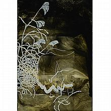 STEVE DRISCOLL, WHISPERS, urethane and pigment on plexi mounted to board, 65 ins x 43.5 ins x 1.75 ins; 165.1 cms x 110.5 cms x 4.4 cms
