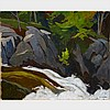 ALFRED JOSEPH CASSON, O.S.A., P.R.C.A., MARSHE'S FALLS (ALGONQUIN PARK), oil on board, 12 ins x 15 ins; 30.5 cms x 38.1 cms