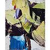 MARCELLE FERRON, R.C.A., SANS TITRE, oil on canvas, 9.5 ins x 7.5 ins; 24.1 cms x 19.1 cms