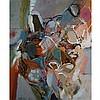 THOMAS SHERLOCK HODGSON, UNTITLED, oil on masonite, 36 ins x 30 ins; 91.4 cms x 76.2 cms
