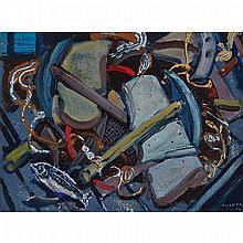 ARTHUR LISMER, O.S.A., R.C.A., KILLICKS (STONE ANCHORS, N.S.), oil on panel, 12 ins x 16 ins; 30.5 cms x 40.6 cms