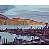 ALFRED JOSEPH CASSON, O.S.A., P.R.C.A., OPEONGO RIVER, 1950, oil on board, 12 ins x 15 ins; 30.5 cms x 38.1 cms, Alfred Joseph Casson, CAD10,000