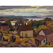 LAWRENCE ARTHUR COLLEY PANTON, O.S.A., R.C.A., OLD PARRY SOUND, oil on panel, 9 ins x 11.5 ins; 22.9 cms x 29.2 cms