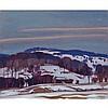 ALFRED JOSEPH CASSON, O.S.A., P.R.C.A., SNOWY LANDSCAPE, oil on board, 9.5 ins x 11.5 ins; 24.1 cms x 29.2 cms, Alfred Joseph Casson, CAD10,000