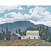 ALFRED JOSEPH CASSON, O.S.A., P.R.C.A., THE FARMHOUSE, 1978, oil on board, 12 ins x 15 ins; 30.5 cms x 38.1 cms, Alfred Joseph Casson, CAD9,000
