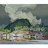 ALFRED JOSEPH CASSON, O.S.A., P.R.C.A., WEATHER CHANGE, 1967, oil on masonite, 20 ins x 24 ins; 50.8 cms x 61 cms, Alfred Joseph Casson, CAD20,000