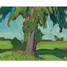 JAMES EDWARD HERVEY MACDONALD, O.S.A., R.C.A., THORNHILL, oil on board, 4.25 ins x 5.25 ins; 10.8 cms x 13.3 cms