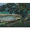 JAMES EDWARD HERVEY MACDONALD, O.S.A., R.C.A., HUMBER RIVER, oil on board, 5.75 ins x 7 ins; 14.6 cms x 17.8 cms, James Edward Hervey Macdonald, CAD6,000