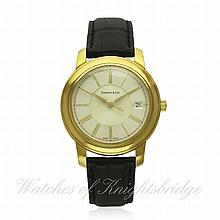 A GENTLEMAN'S 18K SOLID GOLD TIFFANY & CO MARK RES