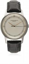 A RARE GENTLEMAN'S LARGE SIZE STAINLESS STEEL VACHERON & CONSTANTIN WRIST W