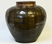 A Chinese Jian Kiln Storage Vessel, Ming Dynasty