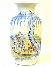 A Chinese Enameled Porcelain Vase