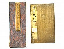 A Pair of Chinese Calligraphy Albums