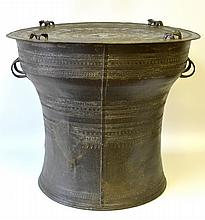A Southeast Asian Bronze Rain Drum