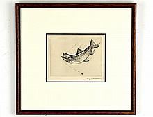 William Joseph Schaldach (1896-1982), Leaping Fish