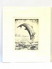 William J. Schaldach (1896-1982), Leaping Tarpon