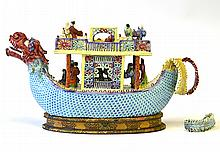 Late 19th Century Chinese Porcelain Boat