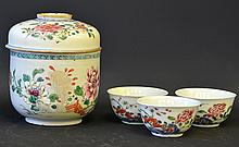 A Group of Chinese Export Famille Rose Porcelain