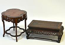 A Pair of Chinese Table Models
