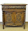 A Philippine Carved Sideboard